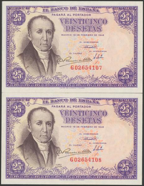 2304 - Billetes Españoles
