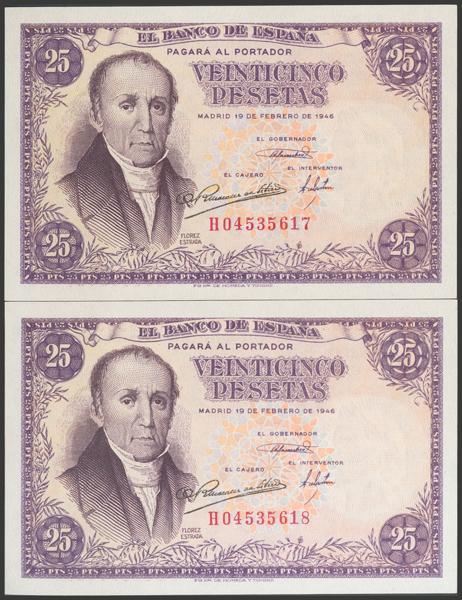 2306 - Billetes Españoles