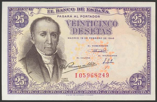 2307 - Billetes Españoles