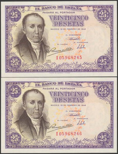 2308 - Billetes Españoles