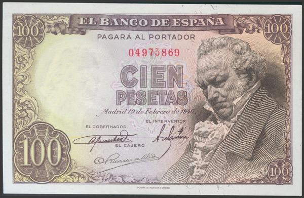2310 - Billetes Españoles