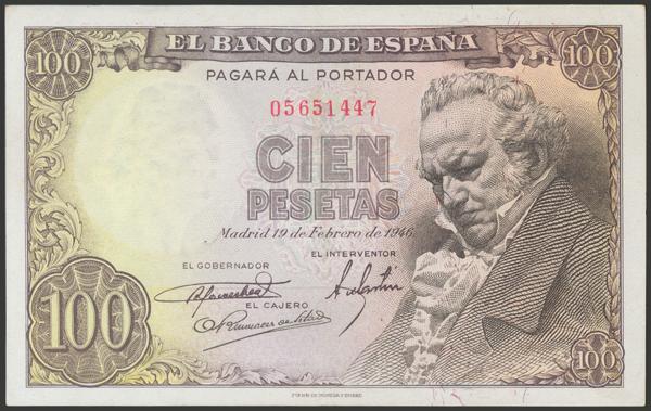 2311 - Billetes Españoles