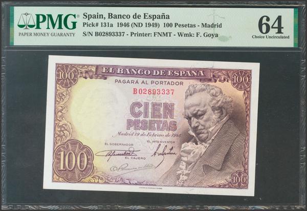 2313 - Billetes Españoles