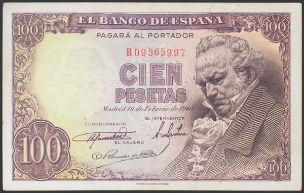 2314 - Billetes Españoles