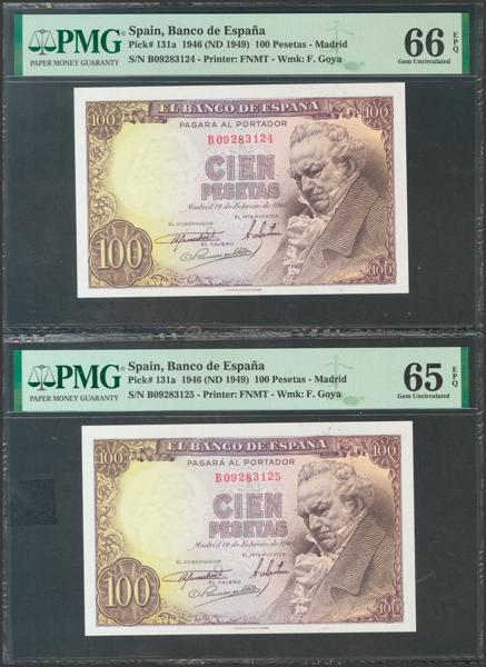 2315 - Billetes Españoles