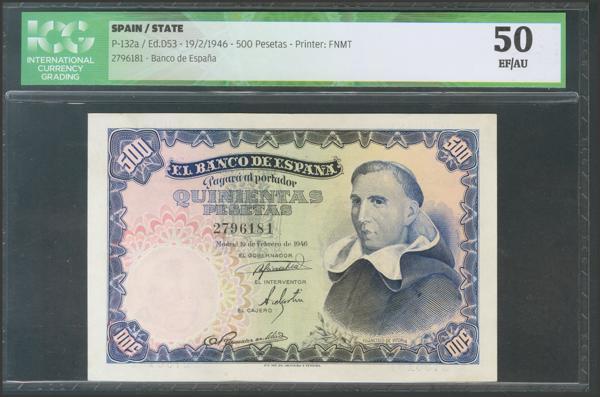 2317 - Billetes Españoles