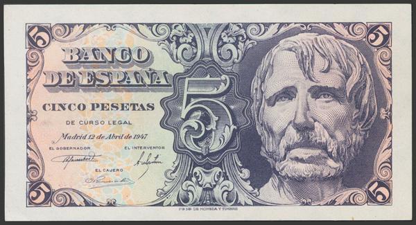 2321 - Billetes Españoles