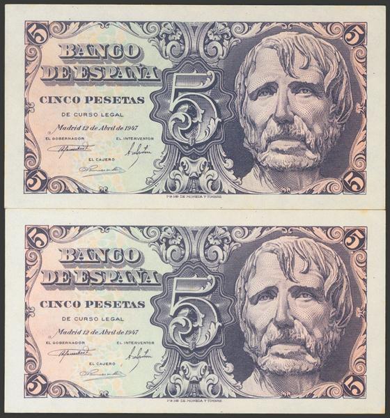 2322 - Billetes Españoles