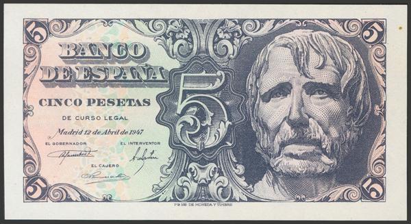 2325 - Billetes Españoles