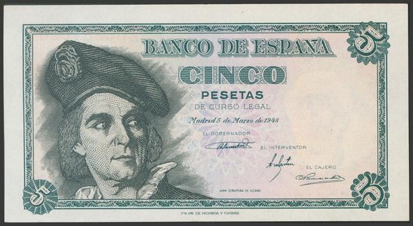 2326 - Billetes Españoles