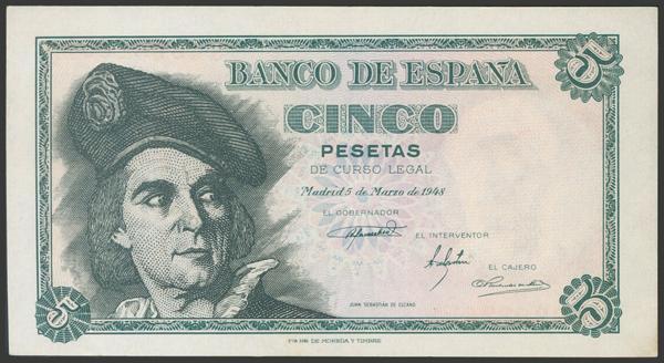 2327 - Billetes Españoles