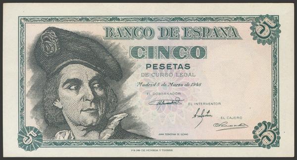 2328 - Billetes Españoles