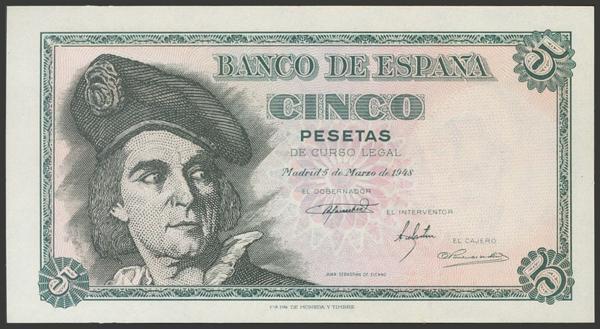 2329 - Billetes Españoles