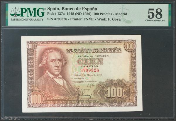 2333 - Billetes Españoles