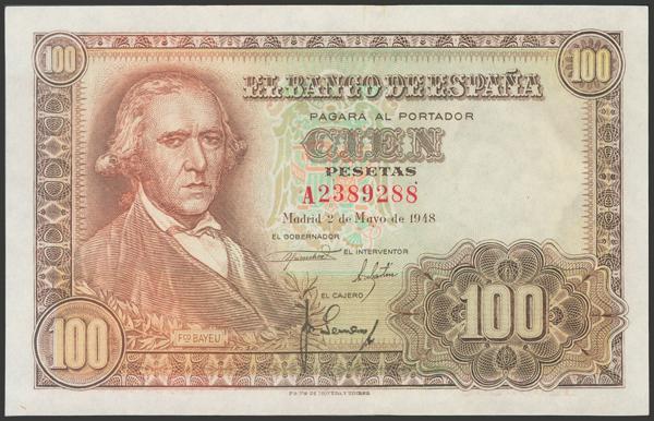 2334 - Billetes Españoles