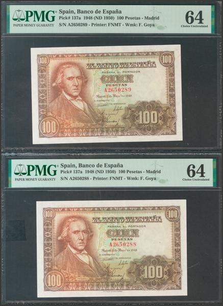 2335 - Billetes Españoles