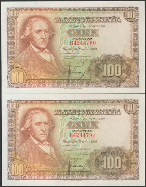2336 - Billetes Españoles