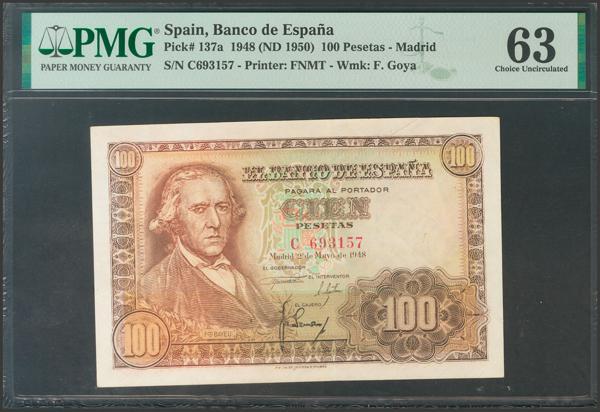 2337 - Billetes Españoles