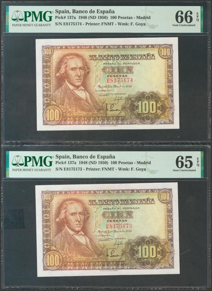 2340 - Billetes Españoles