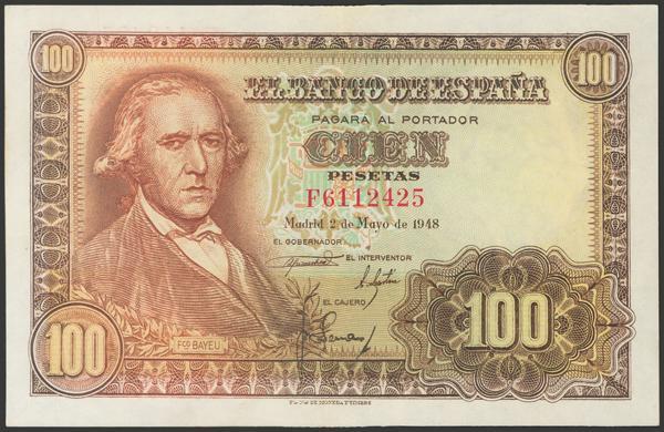 2341 - Billetes Españoles