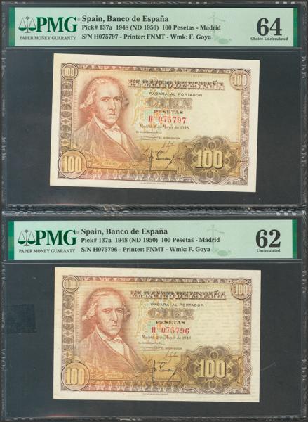 2342 - Billetes Españoles