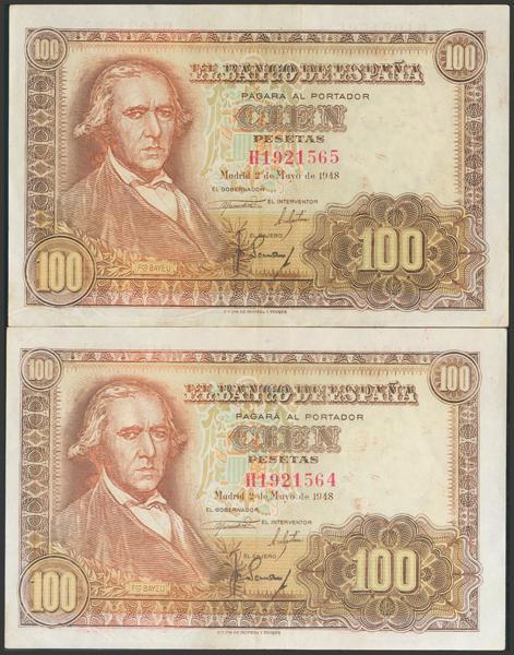 2343 - Billetes Españoles
