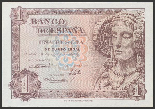 2348 - Billetes Españoles