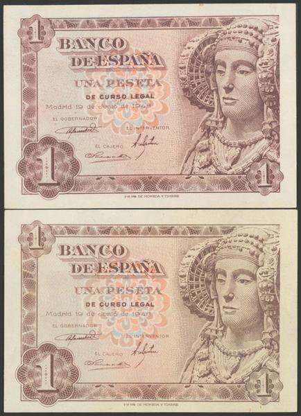 2352 - Billetes Españoles