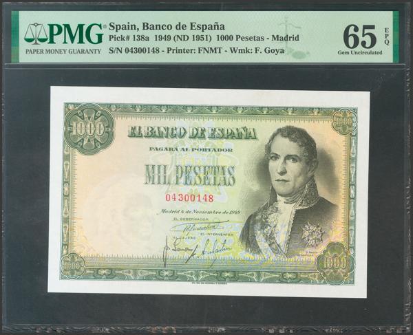 2354 - Billetes Españoles