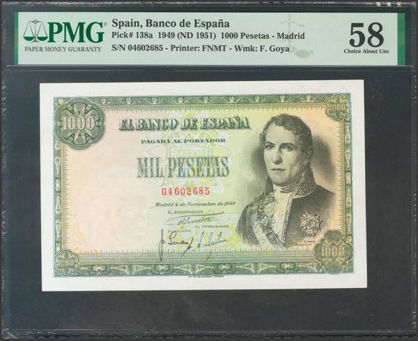 2355 - Billetes Españoles