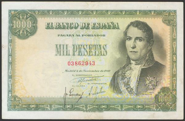2357 - Billetes Españoles