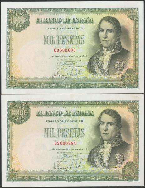 2358 - Billetes Españoles