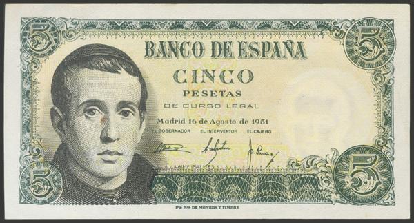 2361 - Billetes Españoles