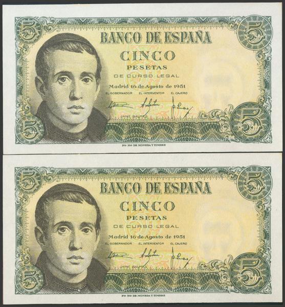 2362 - Billetes Españoles