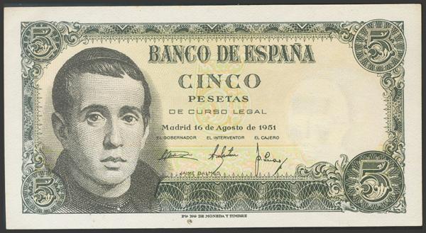 2363 - Billetes Españoles