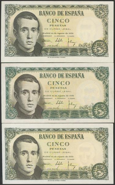 2364 - Billetes Españoles