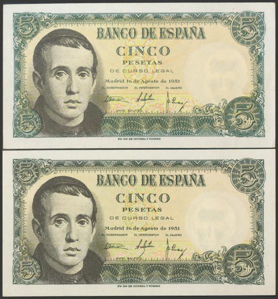 2365 - Billetes Españoles