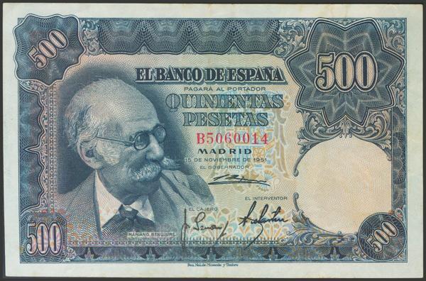 2372 - Billetes Españoles