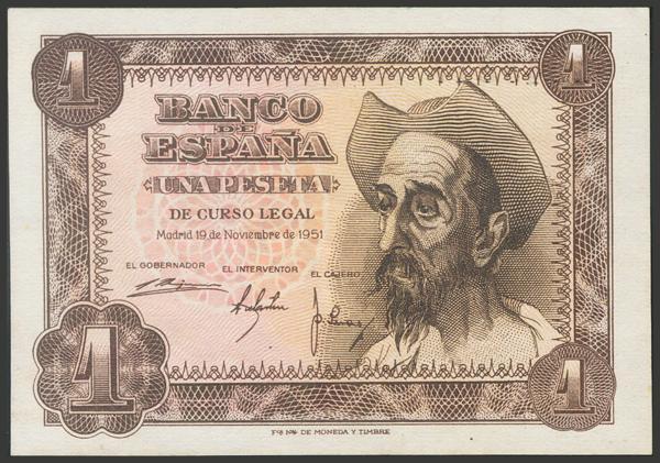 2377 - Billetes Españoles