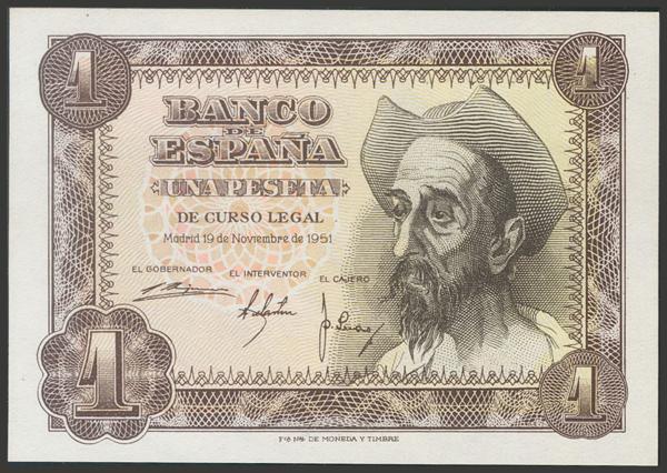 2382 - Billetes Españoles