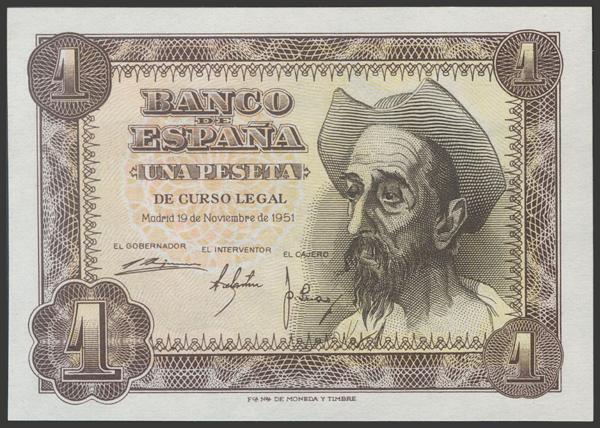 2383 - Billetes Españoles