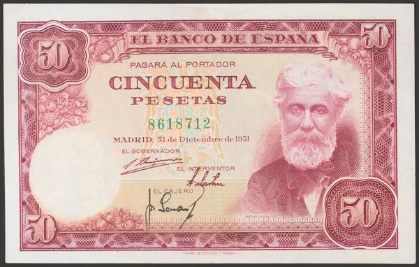 2388 - Billetes Españoles