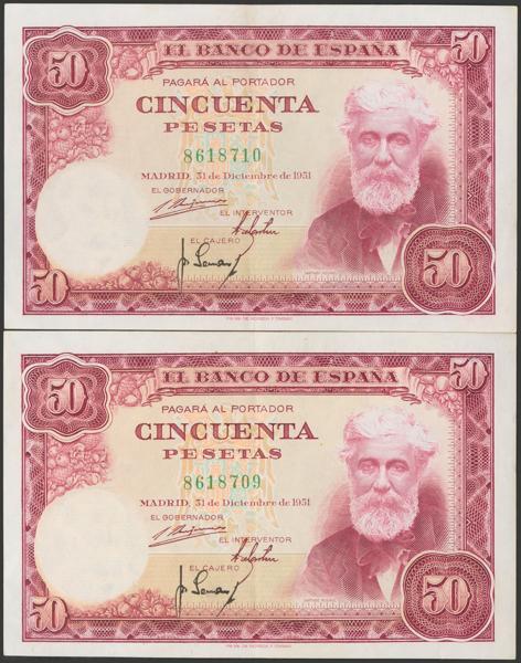 2391 - Billetes Españoles