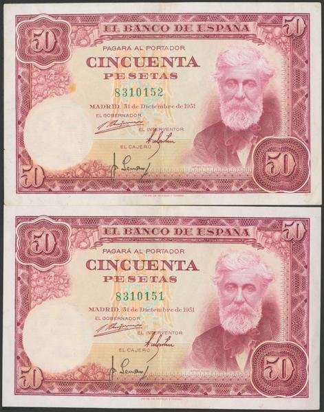 2392 - Billetes Españoles