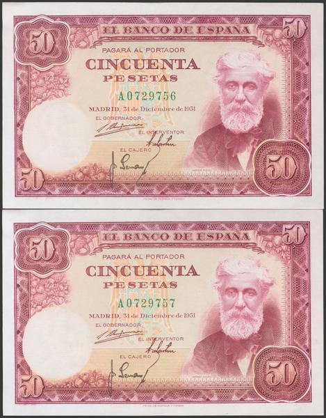 2393 - Billetes Españoles