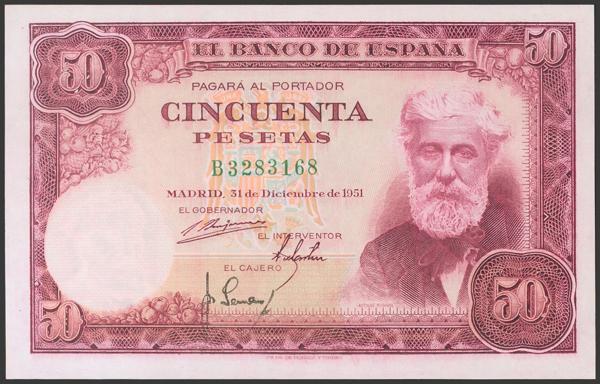 2396 - Billetes Españoles