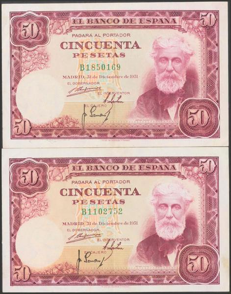 2398 - Billetes Españoles