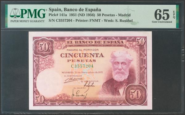 2399 - Billetes Españoles