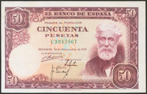 2400 - Billetes Españoles