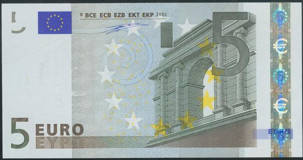 2701 - Billetes Euros